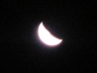 南半球の月